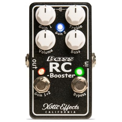 XOTIC BASS RC BOOSTER V2 for sale