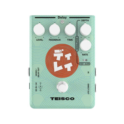 Teisco Delay Analogue Guitar Effects Pedal