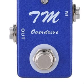MOSKY TM Overdrive MINI Pedal TIMMY OD Style Guitar Effect MICRO Pedal