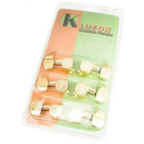 Kluson KL-3801G Contemporary Locking 3x3 Tuners