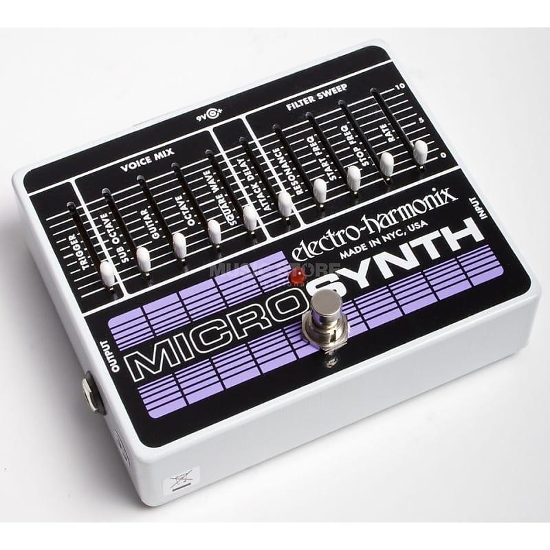electro harmonix micro synth sylvan music reverb. Black Bedroom Furniture Sets. Home Design Ideas