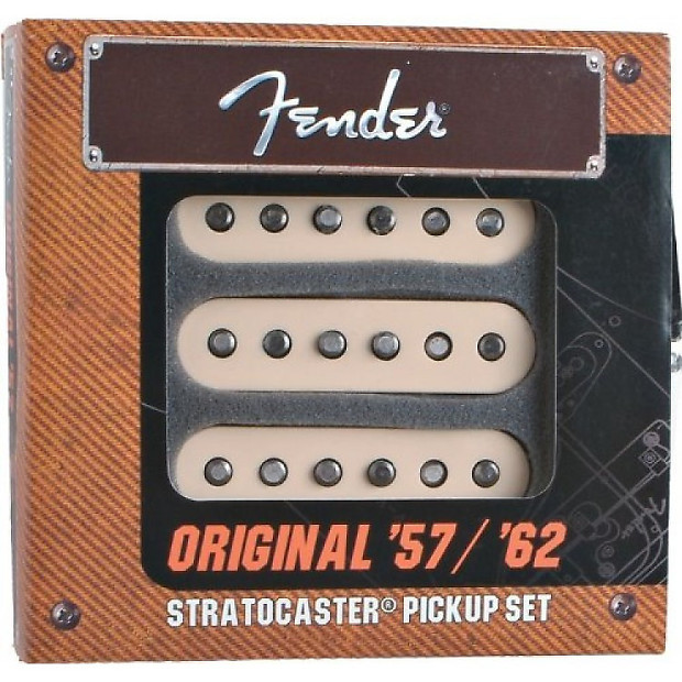 Fender Original  U0026 39 57   U0026 39 62 Strat Pickups