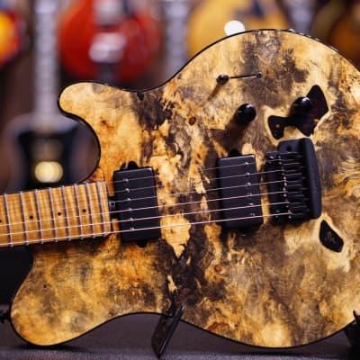 Music Man Axis Buckeye Burl Bfr G87420 for sale