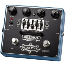 Mesa Boogie Flux-Five Overdrive Pedal With 5-Band EQ