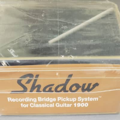 Shadow SH1900 Recording Bridge Pickup System for Classical Guitar for sale