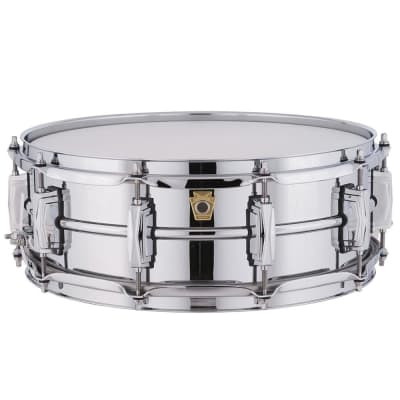 """Ludwig LM400 Supraphonic 5x14"""" Aluminum Snare Drum"""