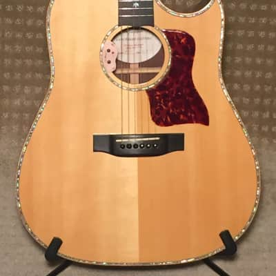 Langejans R-6 Cutaway Acoustic Guitar, Custom made in 1997 for sale