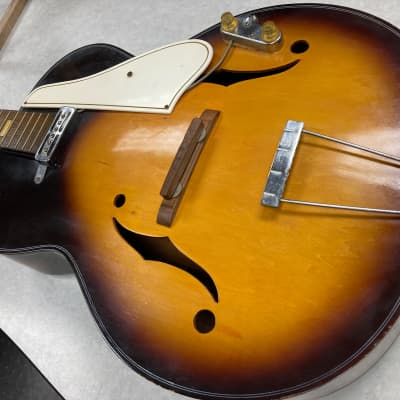 Audition 60's Japan made Archtop with pickup