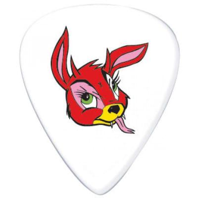 Dunlop BL23R100 Frank Kozik Devil Bunny Tortex 1mm Guitar Picks (36-Pack)