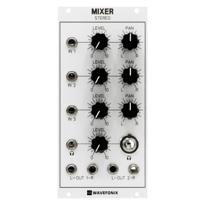 Wavefonix 3-Channel Stereo Panning Mixer