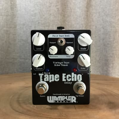 Wampler Faux Tape Echo delay pedal - 6-knob version with tape reel