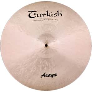 """Turkish Cymbals 16"""" Custom Series Araya Crash A-C16"""