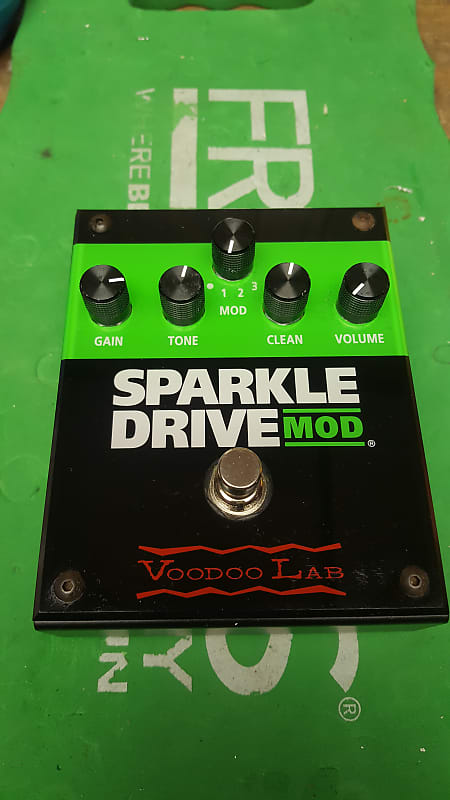 voodoo lab sparkle drive mod verbtone shop reverb. Black Bedroom Furniture Sets. Home Design Ideas