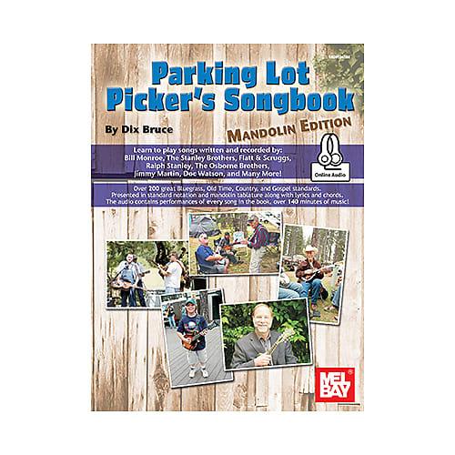 PARKING LOT PICKER/'S SONGBOOK MANDOLIN EDITION BOOK NEW