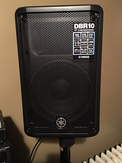Two Yamaha DBR 10 2017 with Stand s | David's Gear Delirium