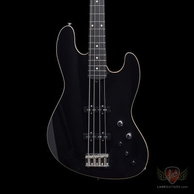 Suhr Custom Blackout Classic J Roasted MN Ebony FB - Black (409) for sale