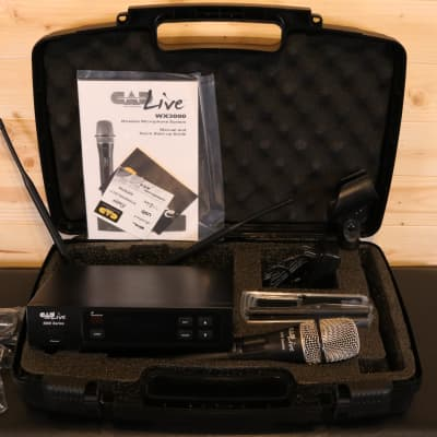 CAD WX3000R - Wireless Supercardioid Dynamic Handheld Microphone System w/D90 Capsule - Rental Unit
