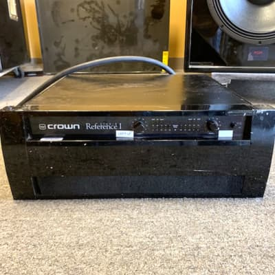 CROWN STUDIO REFERENCE 1 One Industry Standard Amp Power Amplifier Good Cond for sale