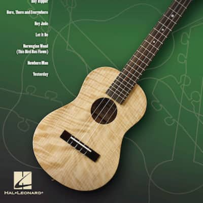 Hal Leonard Ukulele Play Along Vol. 6 - Lennon & McCartney Book