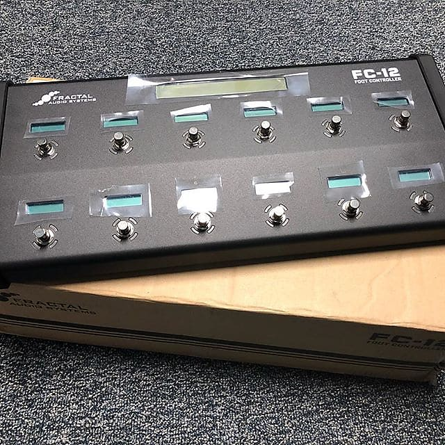 Fractal Audio FC-12 Foot Controller for Axe Fx III - Brand new and never  used