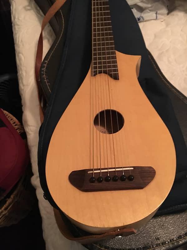 Vagabond Travel Guitar Natural Reverb