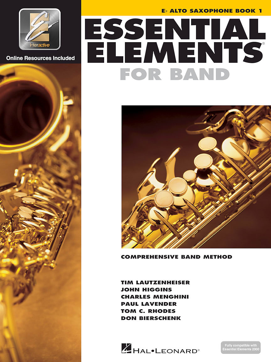 Hal Leonard Essential Elements Alto Sax Package 3 Pk