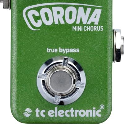 Tc Electronic Corona Mini Chorus Effetto A Pedale Per Chitara Toneprint for sale