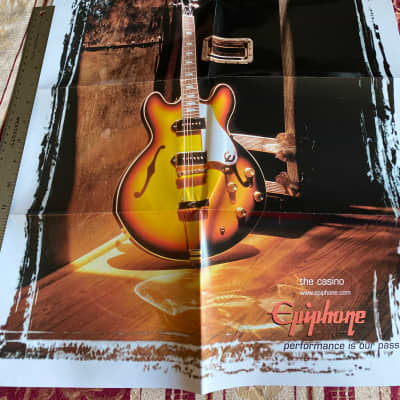 Epiphone Early 2000's 2-sided Poster