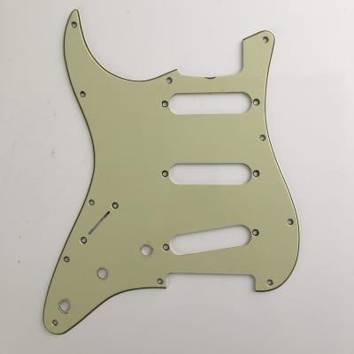 '62 Genuine Fender Stratocaster Pickguard 3Ply Mint Green Left Strat Lefty Relic