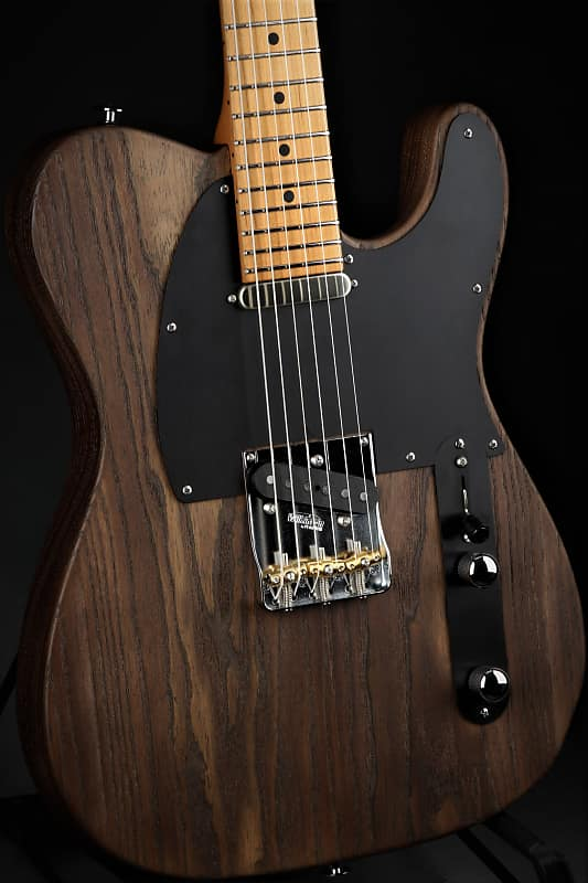 Suhr Andy Wood Signature Ss Modern T Whiskey Barrel Demo