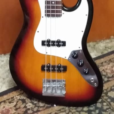 FULLERTON J BASS 1980's SUNBURST for sale