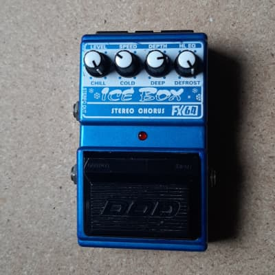DOD digitech FX 64 Ice Box Chorus Analog BBD Chip rare Effect Pedal for sale