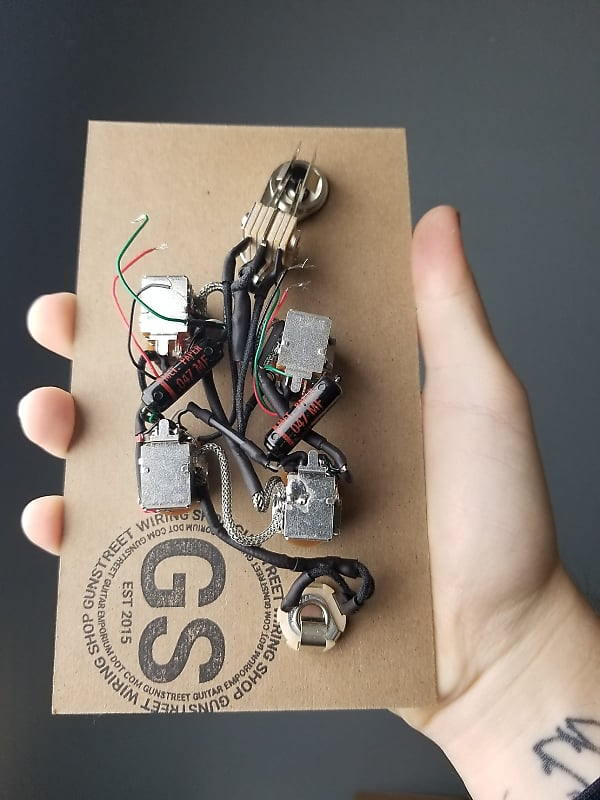 Sensational Gunstreet Wiring Shop U S Spec Sg Jimmy Page Black Reverb Wiring Cloud Toolfoxcilixyz
