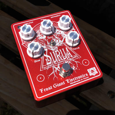 Frost Giant Electronics Surya Saturated Fuzz Destroyer 2018