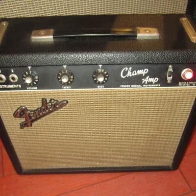 Vintage 1965 Fender Champ Amp Blackface