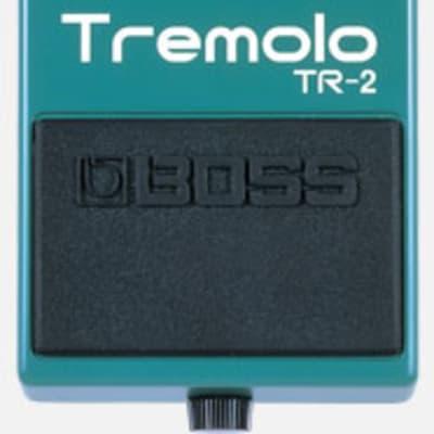 BOSS TR-2 TREMOLO EFFECT PEDAL TR2 for sale
