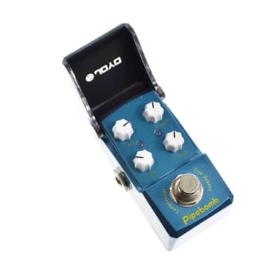 Joyo JF-312 Pipe Bomb Compressor Ironman Mini Guitar Effects Pedal for sale