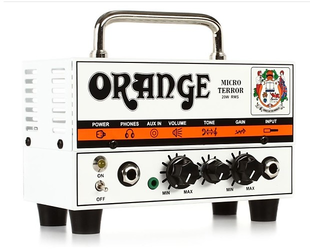 black friday orange mt20 micro terror tube amp head 20 watts reverb. Black Bedroom Furniture Sets. Home Design Ideas