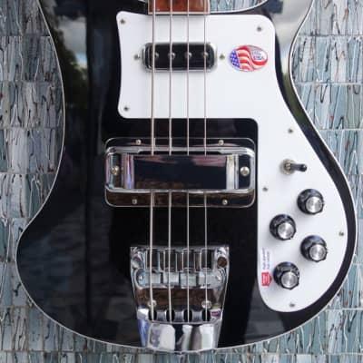 Rickenbacker 4003 Bass, Jetglo for sale