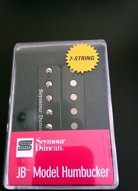 Seymour Duncan JB 7 string Bridge Black sh-4 11107-13-7str