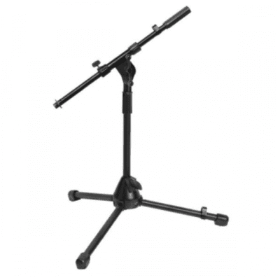 On-Stage MS7411B  Drum/Amp Tripod Mic Stand with Boom 2020 Black