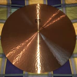 "1970s Black Label Paiste 24"" 2002 Ride Cymbal"