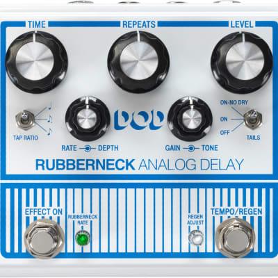 DigiTech DOD Rubberneck Analog Delay Pedal