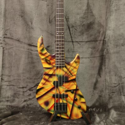 Guild Pilot SB-602 Bass 1987 with Vintage Guild Hard Shell Case *Rare Finish* for sale