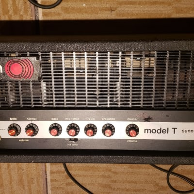 Sunn Model T Red Knob for sale