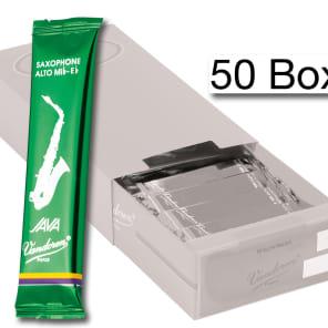 Vandoren SR262/50 Java Series Alto Saxophone Reeds - Strength 2 (Box of 50)
