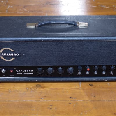 Carlsbro PA60 1971 valve guitar amp - modified to plexi style for sale