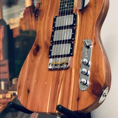 Whitebread Guitars  Dirty Red Telecaster  2020 Heavy Grain Satin