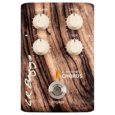 LR Baggs Align Series Chorus Effects Pedals Proprietary chorus tailored specifically for acoustic instruments for sale