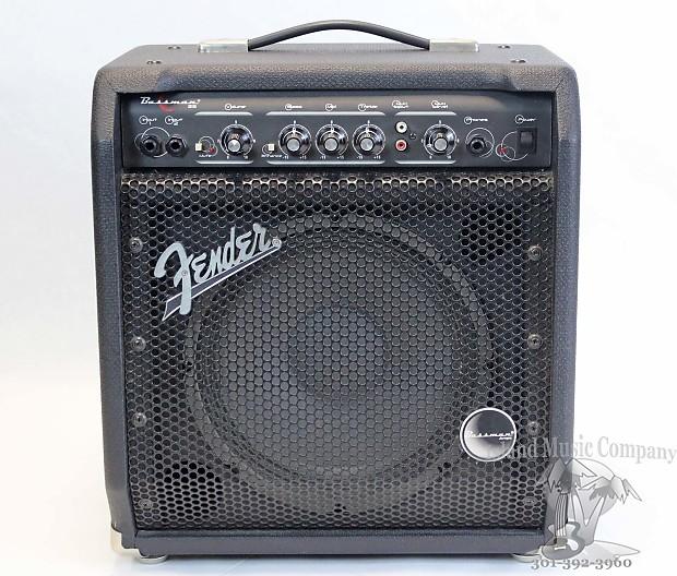 fender bassman 25 25 watt bass combo amplifier reverb. Black Bedroom Furniture Sets. Home Design Ideas